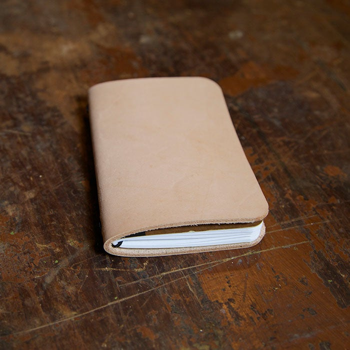 Image of Single Field Notes Slimline Leather Cover