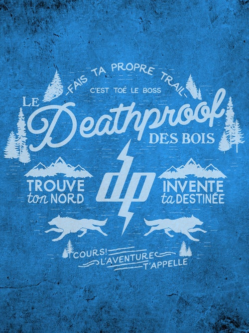Image of Le Deathproof des Bois / T-shirt