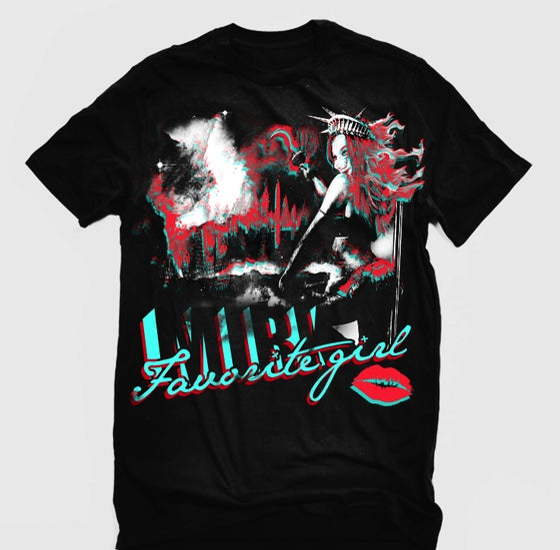 Image of Favorite Girl T-Shirt (Grind Album)