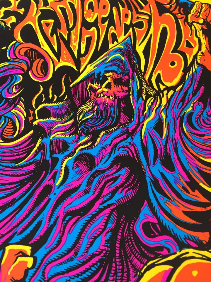 TOMBS OF THE BLIND DEAD 18 x 24 Mindwarp Limited Edition Screen Print