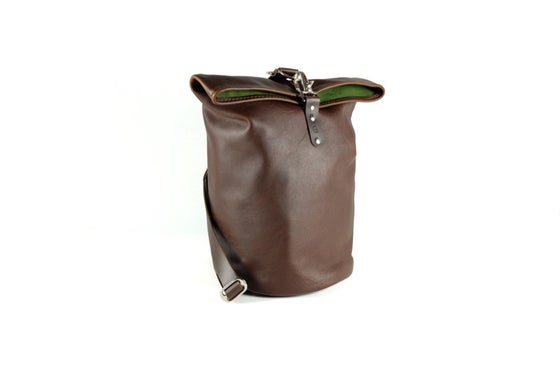 Image of Leather Ditty/duffel Bag