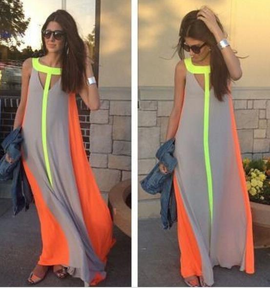 Image of HOT CHIFFON LONG DRESS