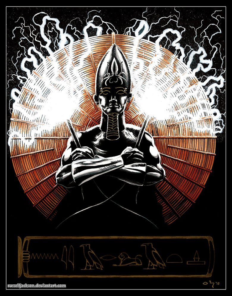 Image of Black Pharaoh PRINT