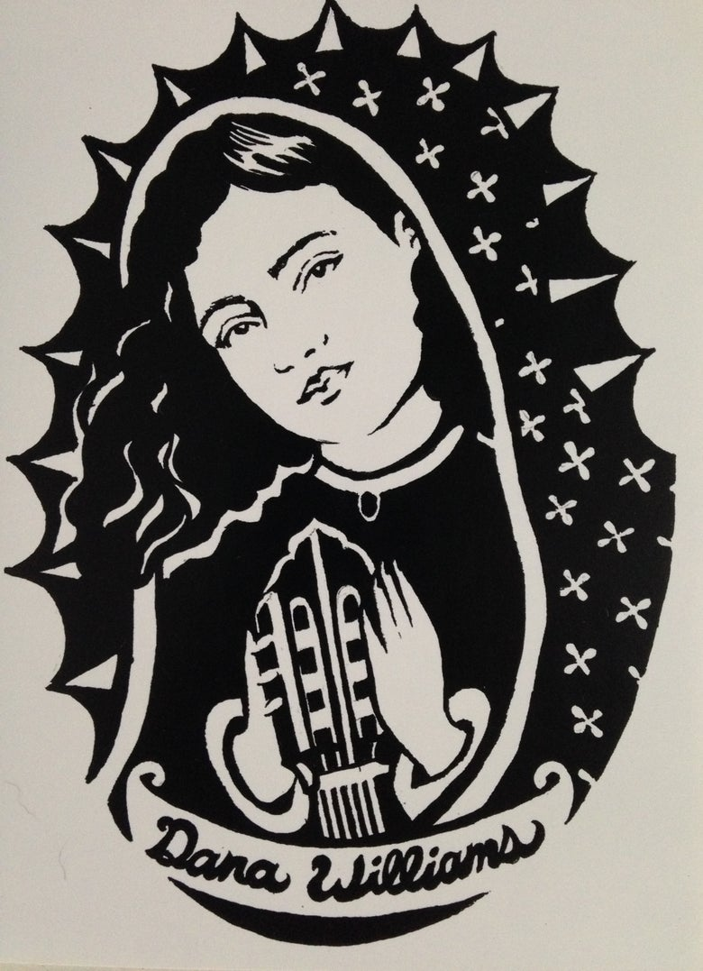 Image of Dana Mary Sticker