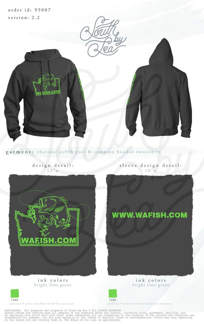 Image of Charcoal Hooded Sweatshirt