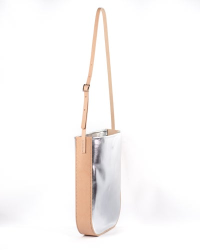 Image of Metallic Shoulder Bag