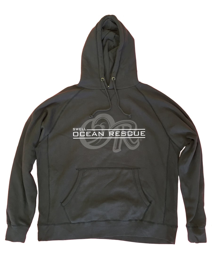 Image of Ocean Rescue Faded Navy Hoodie