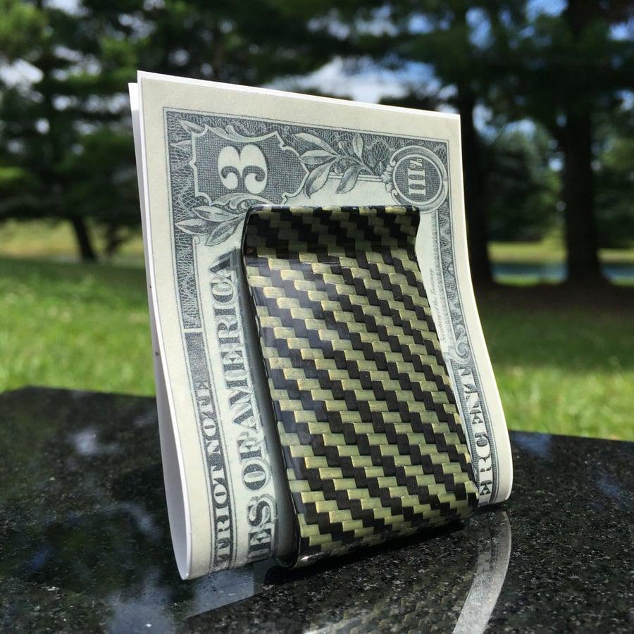 Image of Carbon Fiber Money Clips