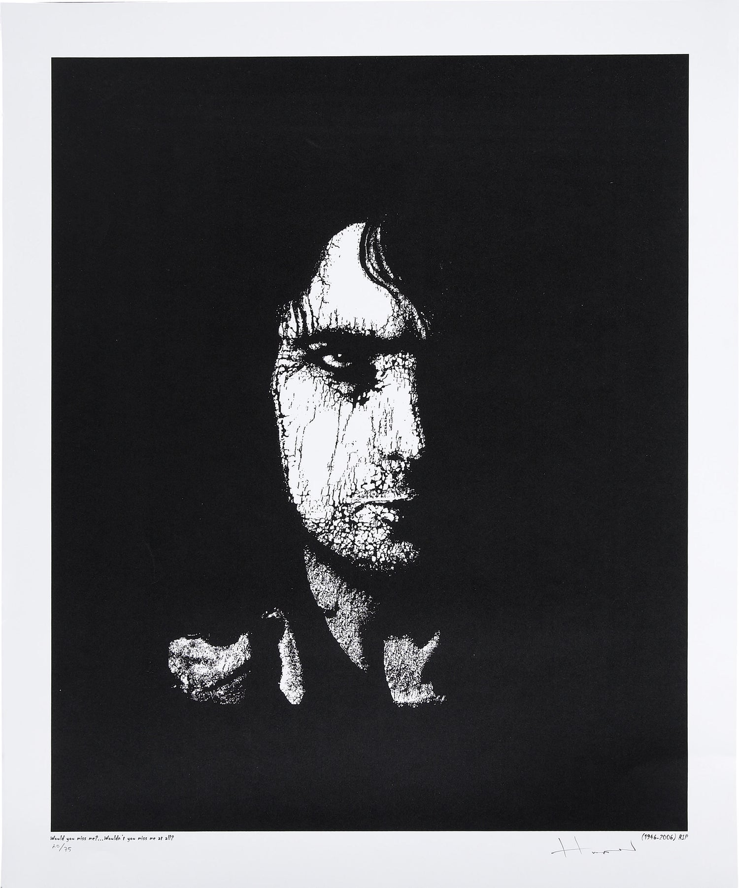 Image of Where Are You Now? • Syd Barrett Artist Proof
