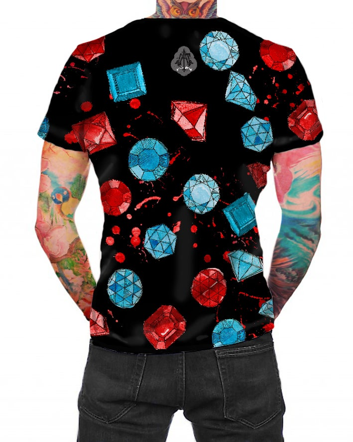 Image of Gemstones Black - T-shirt