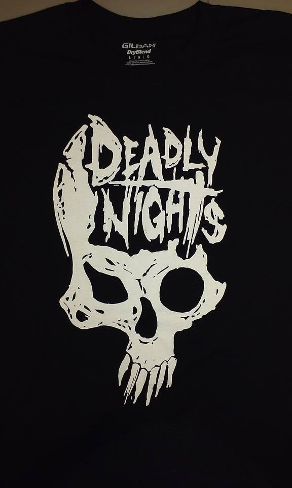 Image of Deadly Nights Skull T-Shirt