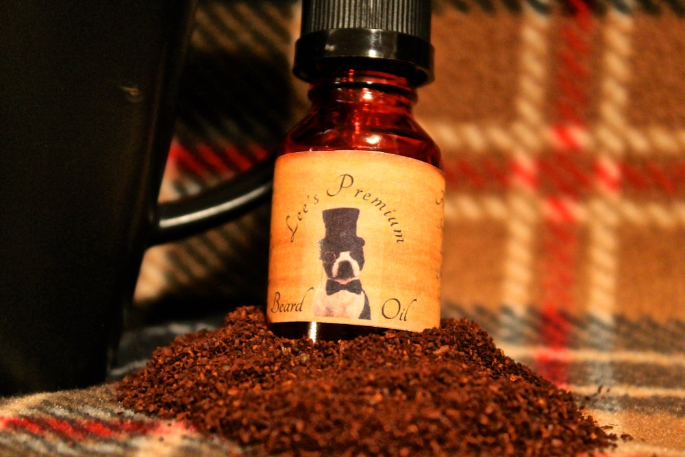 Image of Lee's Premium Beard Oil - A Cup of Joe