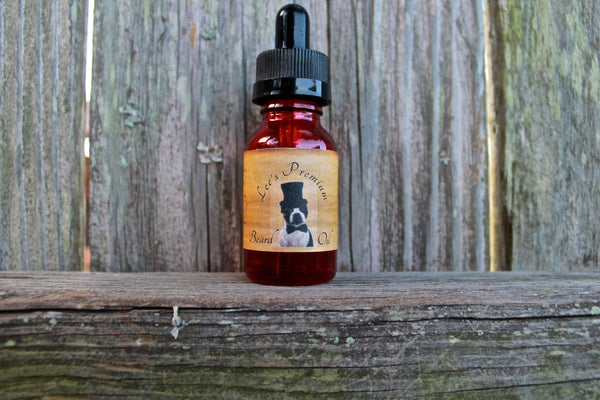 Image of Lee's Premium Beard Oil - Orange Orchard