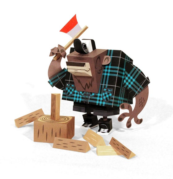 Image of Bear LumberJack