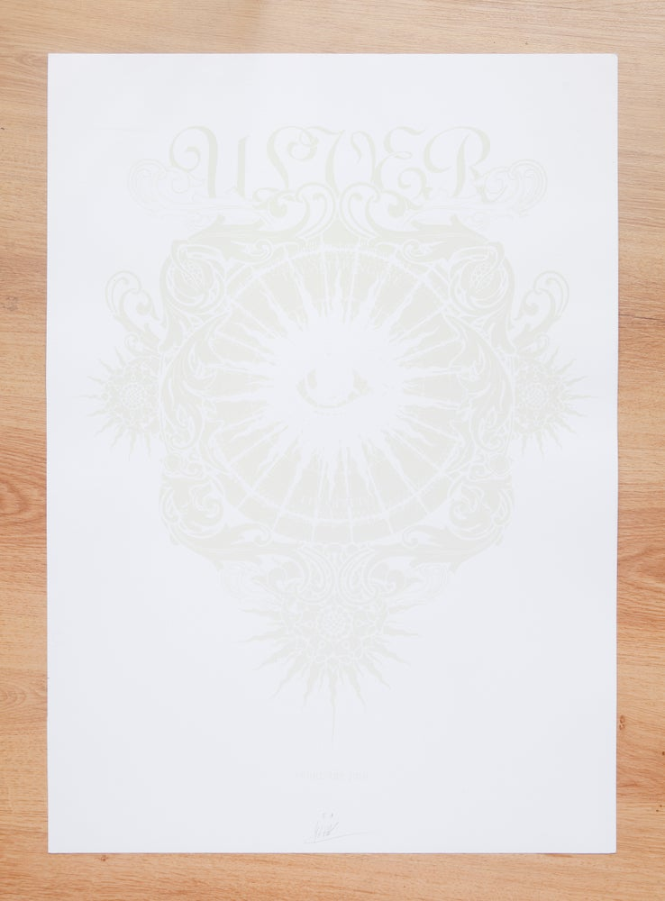 """Image of ULVER """"FEBRUARY 2010"""" white"""