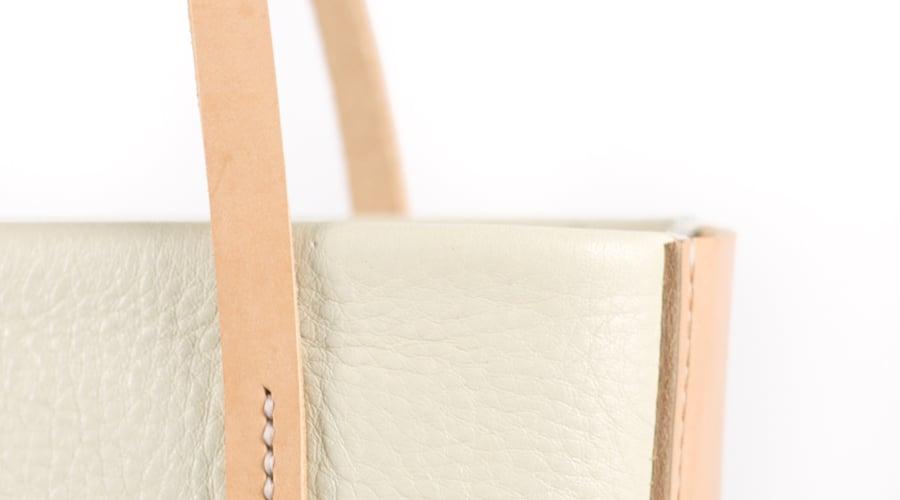 Image of Tote in Cream