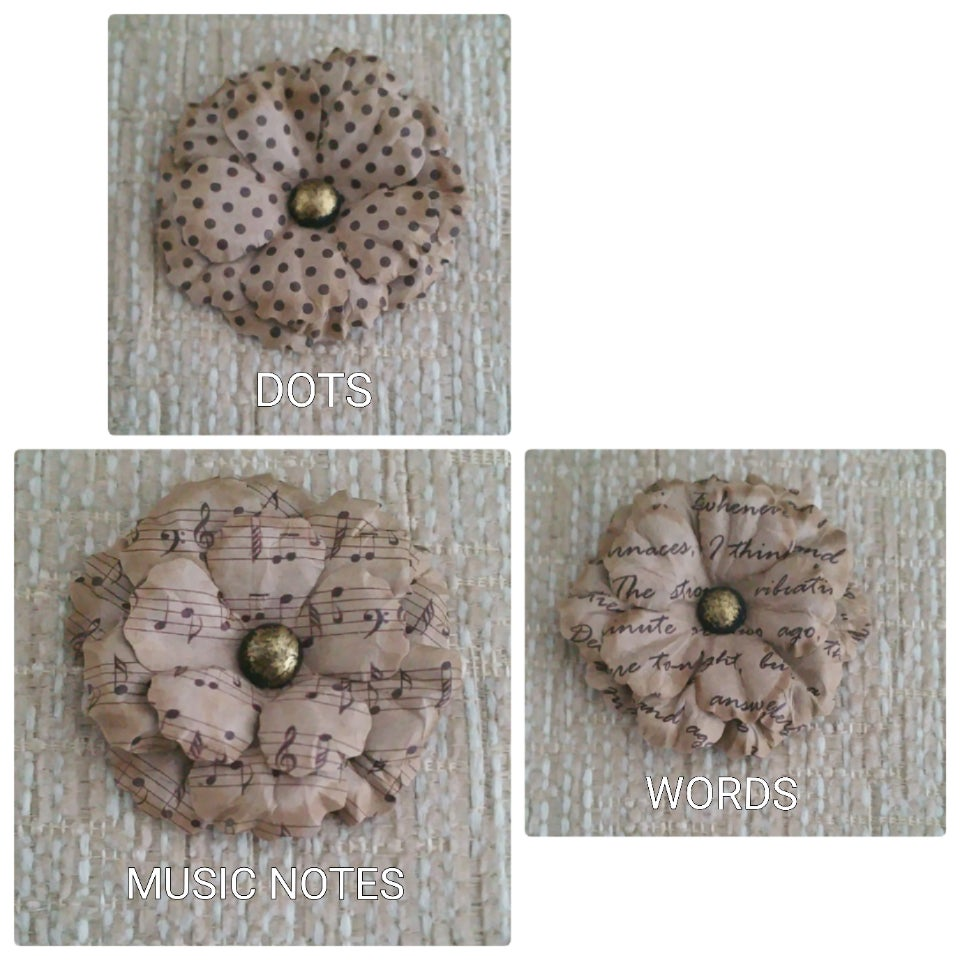 Image of WHISPER LAPEL FLOWER SERIES