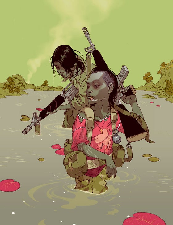 Image of Tomer Hanuka's 'From God's Mountain' AP