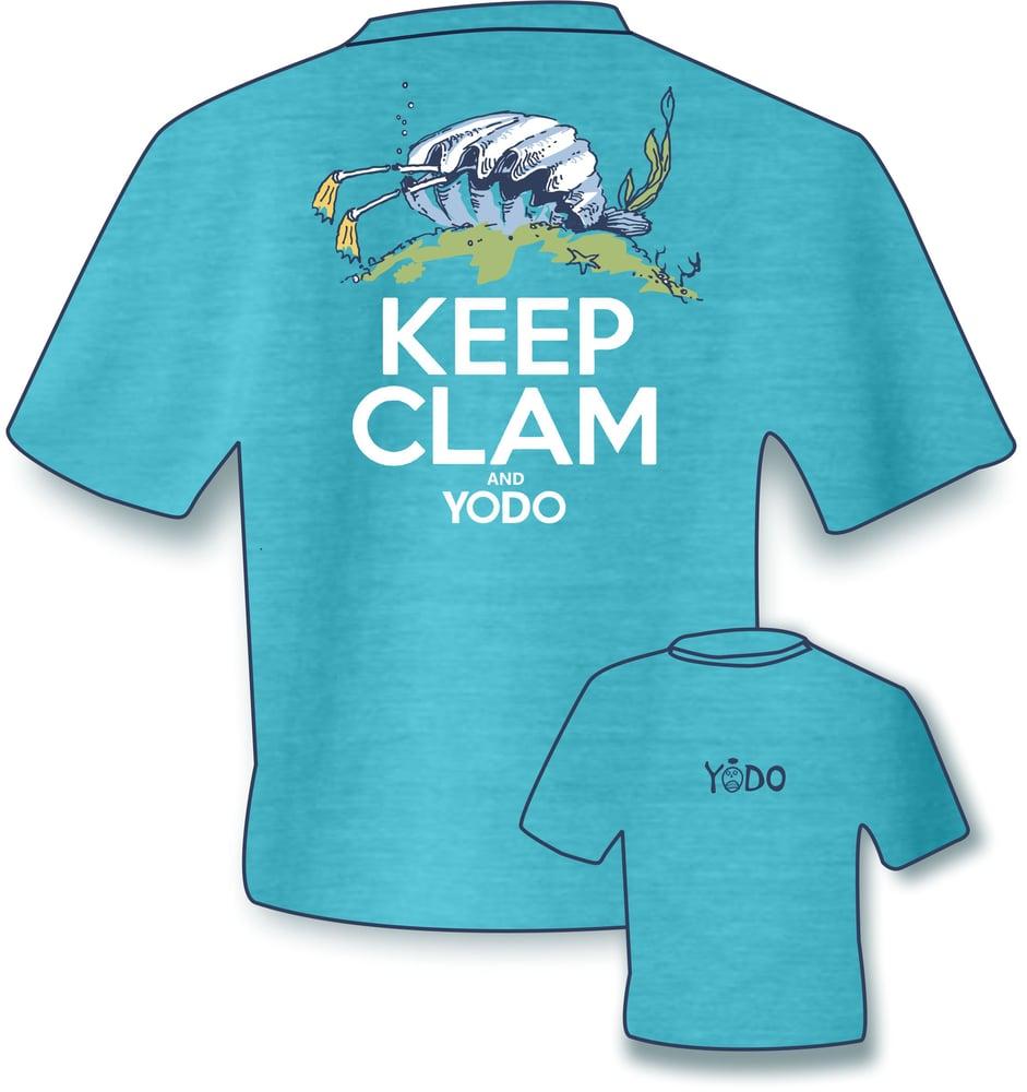 Image of KEEP CLAM & YODO