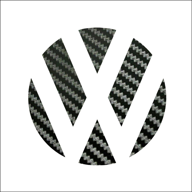 Image of Rear Badge Vinyl - Plaid/Stickerbomb/Carbon Fiber/German Flag fits: MK7 GTI/Golf