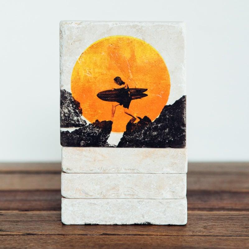 Image of Pass Walk Mini Stone Print