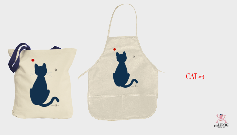 Image of CAT#3 (tee/undie/youth tee/toddler tee/baby onesie/tie/tote bag/apron/print/framed art)