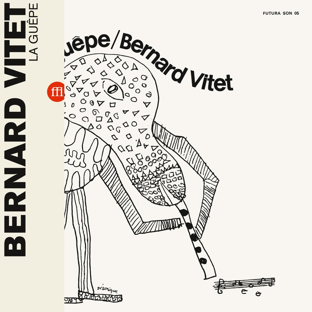 Image of BERNARD VITET - LA GUEPE (FFL010/SON05 - black)