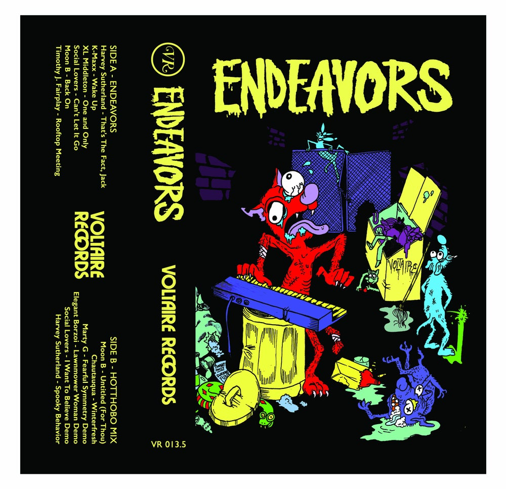 Image of Endeavors Cassette Compilation/Exclusive Mix