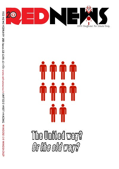Image of Red News Print/Digital Year (6 Double mag) Subscription