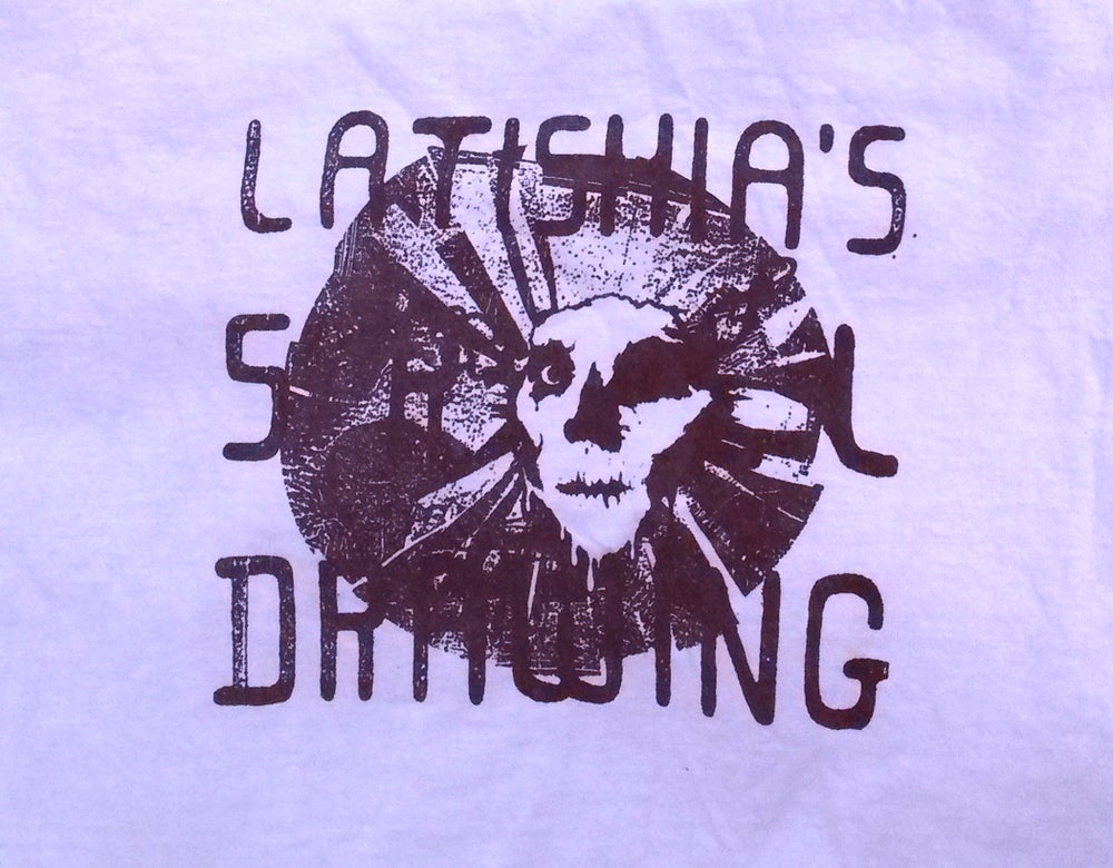 Image of LATISHIA'S SKULL DRAWING SHIRT