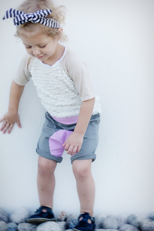 Image of the ARLO shorties and knit pants