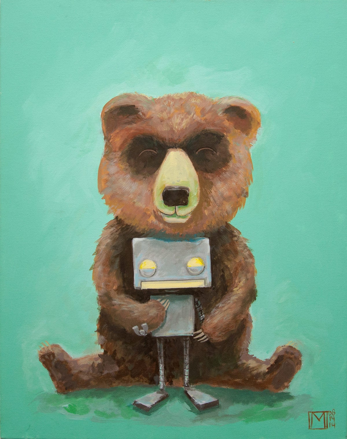 Image of The Bear and Robot II