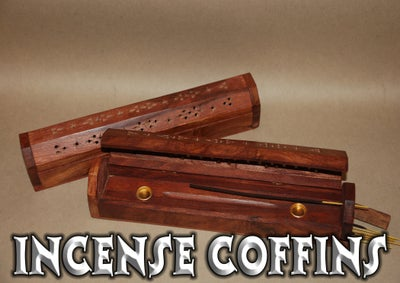 Image of Incense Coffin (11 inch Incense)