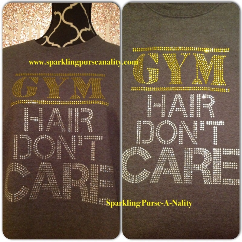 "Image of ""Sparkling"" Gym Hair"
