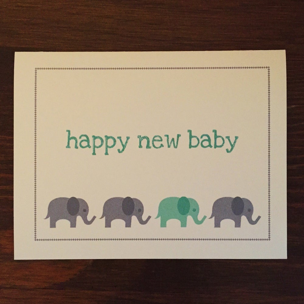 Image of Happy New Baby