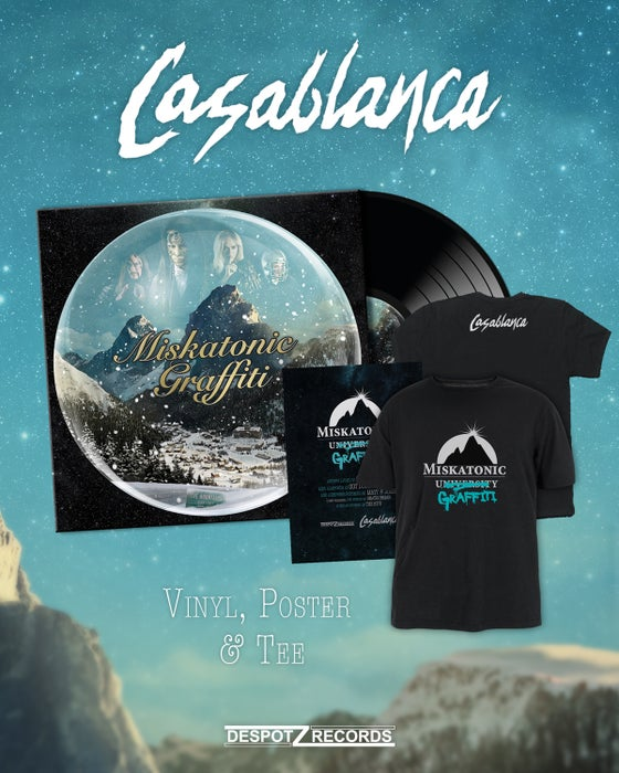 Image of Casablanca - Miskatonic Graffiti (2xLP/Poster/Shirt)