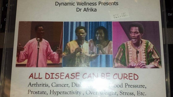Image of Dynamic Wellness Presents Dr Afrika