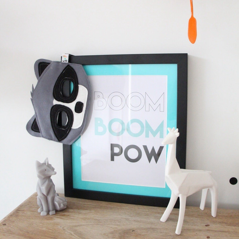 Image of 'BOOM BOOM POW' ART PRINT