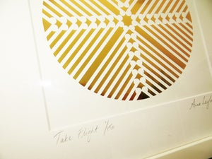 Image of 'Take Flight' - Limited Edition GOLD OR COPPER Print