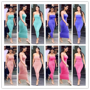 Image of HOT SHOW BODY STRAPLESS DRESS