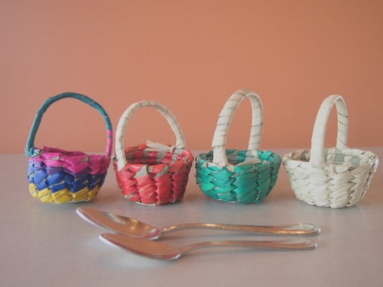 Image of Mini Woven Basket