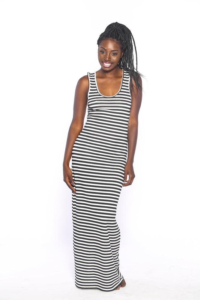Image of Kimmie Striped Maxi