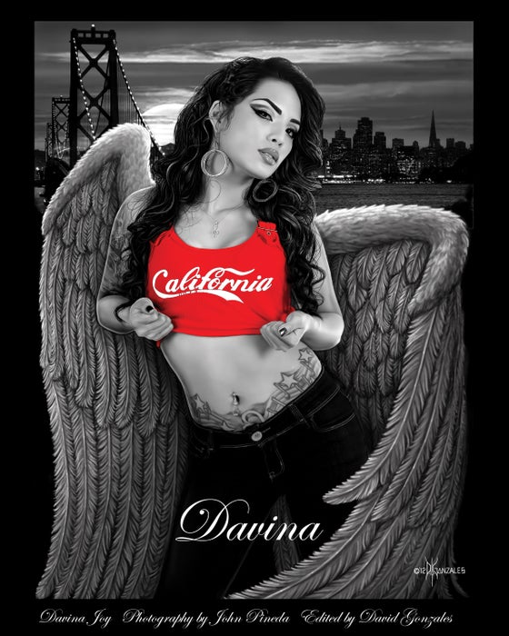 "Image of Davina DG Angels Poster (11x14"" Poster Size)"