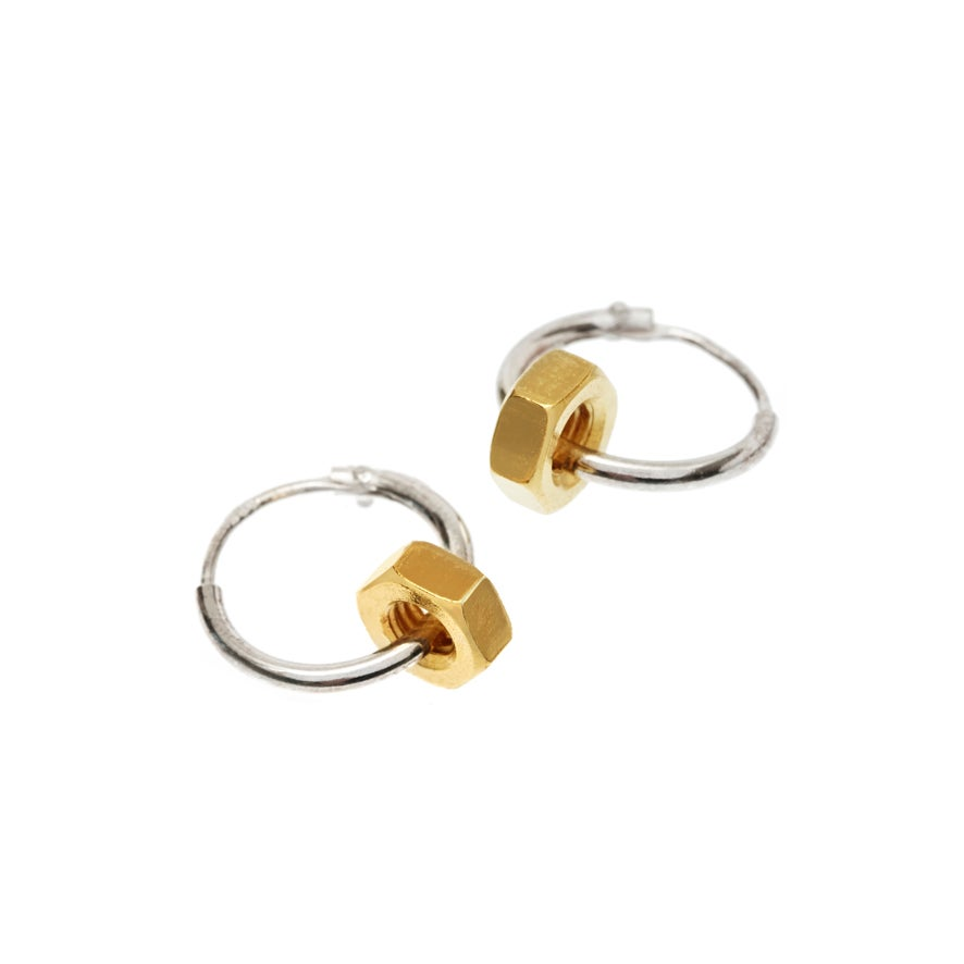 THE SURFACES OF THE NUT REFLECT THE LIGHT BEAUTIFULLY