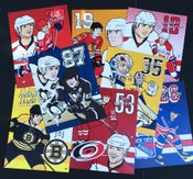 Image of NHL Stars Art Prints