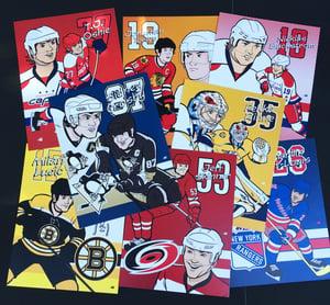 Image of NHL Stars Art Prints