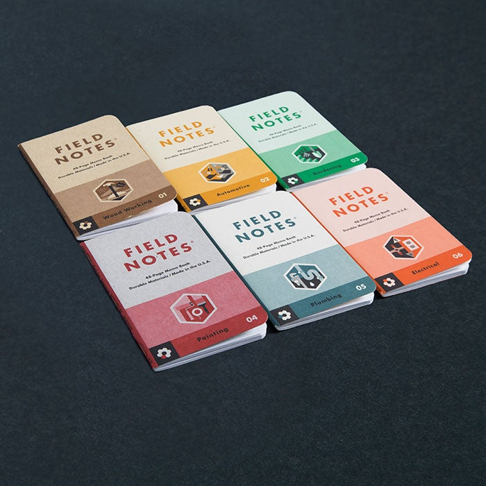 Image of Field Notes Workshop Companion 6 Book Boxed Set