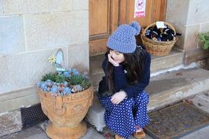 Image of 100% Cotton Floral Prints Split Skirt / 斜襟裙褲 code:161