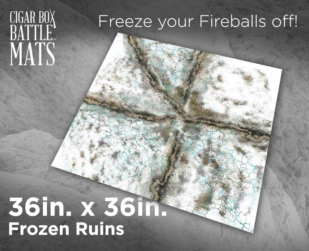 Image of Frozen Ruins -- 3x3 -- #201