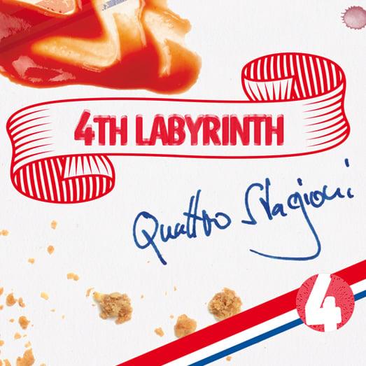 Image of 4th Labyrinth - Quattro Stagioni CD